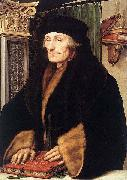 Portrait of Erasmus of Rotterdam, Hans holbein the younger