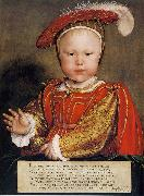 Portrait of Edward VI as a Child, Hans holbein the younger