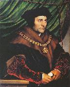 Portrait of Sir Thomas More,, Hans holbein the younger