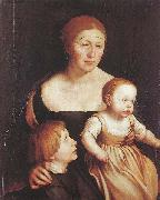 The Artist Family, Hans holbein the younger