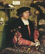 Portrait of the Merchant Georg Gisze, Hans holbein the younger