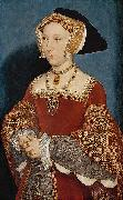 Portrait of Jane Seymour,, Hans holbein the younger