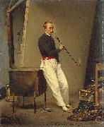 Horace Vernet Self portrait oil painting reproduction