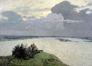 Isaac Levitan Over Eternal Peace oil painting reproduction