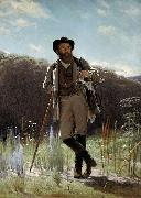 Ivan Kramskoi Portrait of painter Ivan ShishkinPortrait of painter Ivan Shishkin oil painting artist