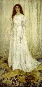James Abbott Mcneill Whistler Symphony in White, oil painting reproduction