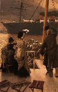 Goodbye, on the Mersey,, James Tissot