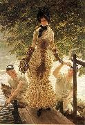 On the Thames, James Tissot
