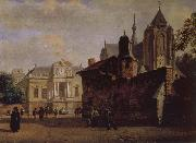 Baroque palaces and the Cathedral, Jan van der Heyden