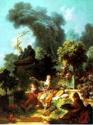 The Lover Crowned, Jean-Honore Fragonard