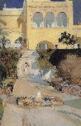 The Royal Palace in the afternoon, Joaquin Sorolla