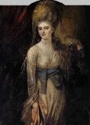 Johann Heinrich Fuseli Portrait of a Young Woman oil painting reproduction