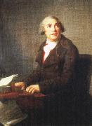 one of the most successful opera composers of his time,painted by elisadeth vigee lebrun