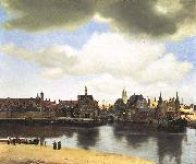 View of Delft,, Johannes Vermeer