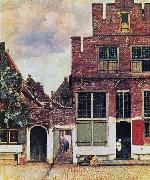 The Little Street,, Johannes Vermeer