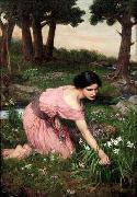 Spring Spreads One Green Lap of Flowers, John William Waterhouse