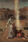 Magic Circle, John William Waterhouse