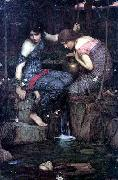 John William Waterhouse Nymphs Finding the Head of Orpheus oil painting reproduction
