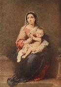 Madonna and Child, MURILLO, Bartolome Esteban