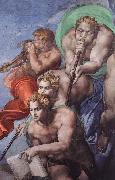 Michelangelo Buonarroti Last Judgment oil painting reproduction