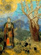 The Buddha,, Odilon Redon