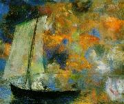 Flower Clouds,, Odilon Redon