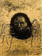 The Crying Spider, Odilon Redon