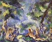 Bath nine women who, Paul Cezanne