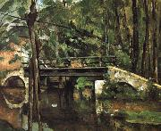 bridge Muncie, Paul Cezanne