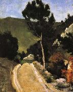 Paul Cezanne road Provence oil painting reproduction