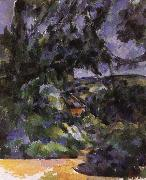 blue landscape, Paul Cezanne