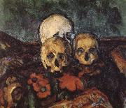 carpet three skull, Paul Cezanne