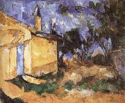 Paul Cezanne dorpen oil painting reproduction