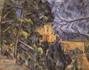 black castle 2, Paul Cezanne