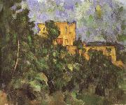 black castle 3, Paul Cezanne