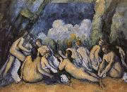 big bath person, Paul Cezanne