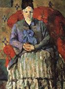 Paul Cezanne Mrs Cezanne oil painting on canvas
