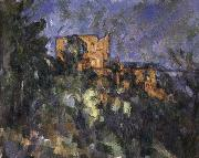 Black Castle, Paul Cezanne