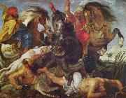 Rubens is known for the frenetic energy and lusty ebullience of his paintings, as typified by the Hippopotamus Hunt