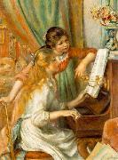 Girls at the Piano,, Pierre-Auguste Renoir