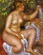 Pierre-Auguste Renoir After The Bath oil painting reproduction