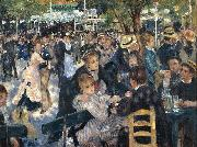 Pierre-Auguste Renoir Dance at Le Moulin de la Galette oil painting reproduction