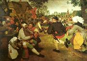Pieter Bruegel bonddansen oil painting on canvas