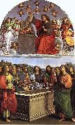 Raphael The Coronation of the Virgin oil painting reproduction