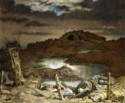 Sir William Orpen Zonnebeke, oil painting reproduction