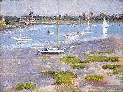 Theodore Robinson, Low Tide Riverside Yacht Club