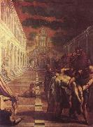 St Mark Body Brought to Venice, Tintoretto