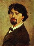 Vasily Surikov Self Portrait oil painting reproduction