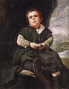 Velasquez Dwarf Juarez oil painting reproduction