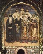 Viktor Vasnetsov Russian Saints oil painting reproduction